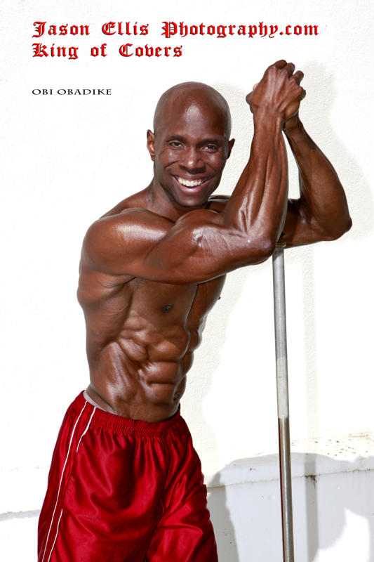 Top Fitness Model Obi Obadike Is The New Global Spokes Model To Isolator, Fitness, Inc