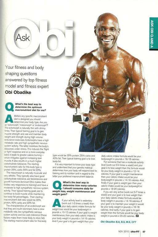 Top Fitness Model &amp; WBFF World Champion's Ultra-Fit Fitness Expert Column