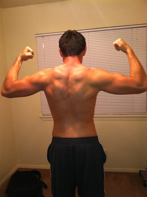 After Transformaton of John&#039;s Back- 158lbs- Body-fat:9%